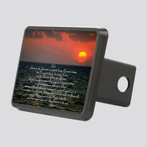 sunrise serenity Rectangular Hitch Cover